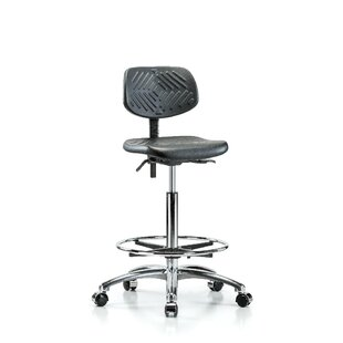 Perch Chairs & Stools Industrial Low-Back Drafting Chair