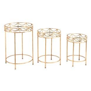 Tamona 3 Piece Nesting Table Set by Rosdorf Park