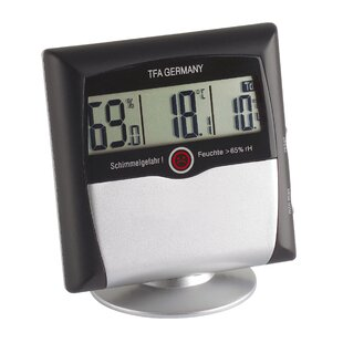 Comfort Control Digital Thermo Hygrometer By Symple Stuff