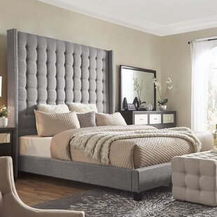 Luxullian Upholstered Platform Bed by Rosdorf Park