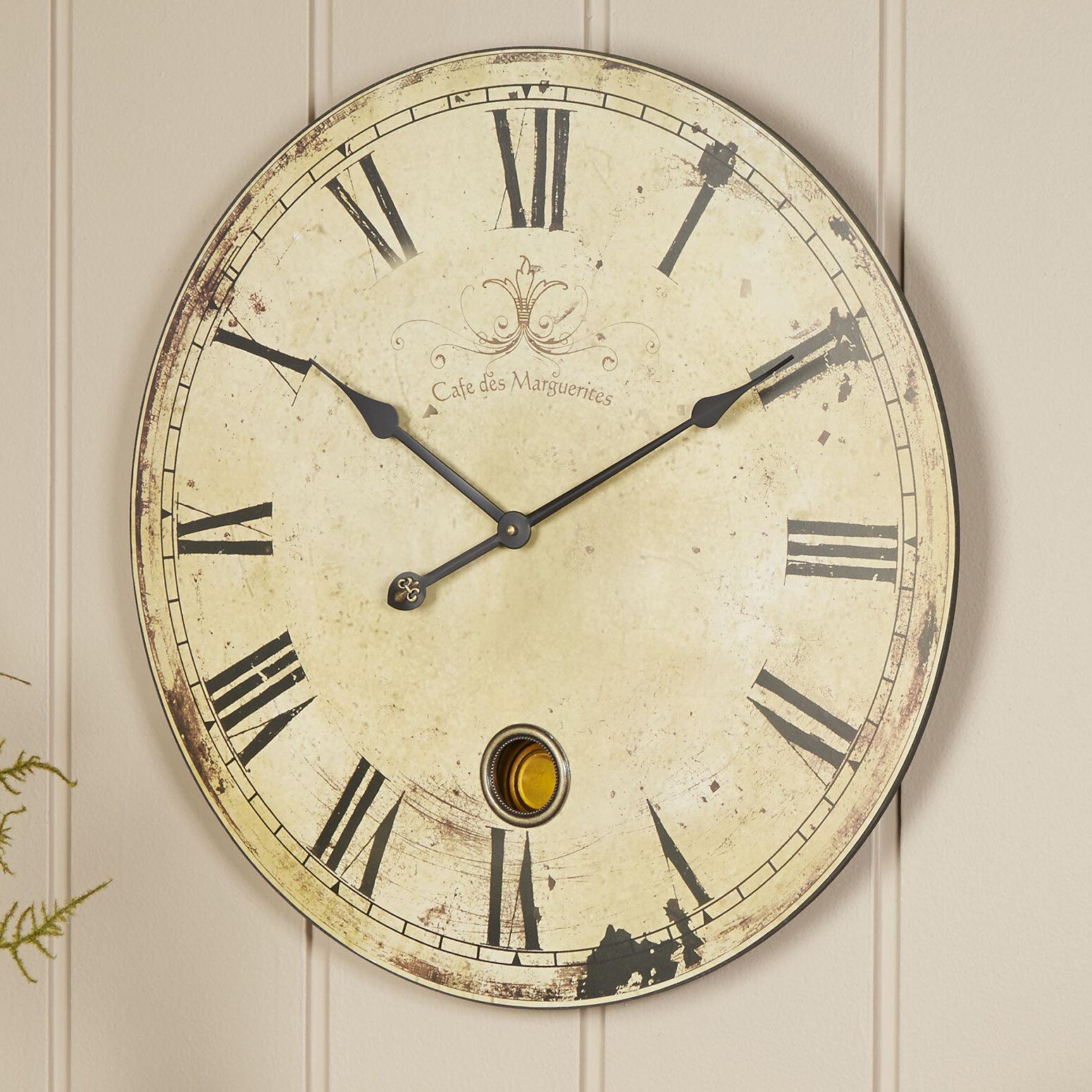 Birch Lane™ Oversized Wall Clock & Reviews | Birch Lane