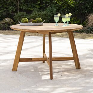 Euphemia Solid Wood Dining Table by Bay I..