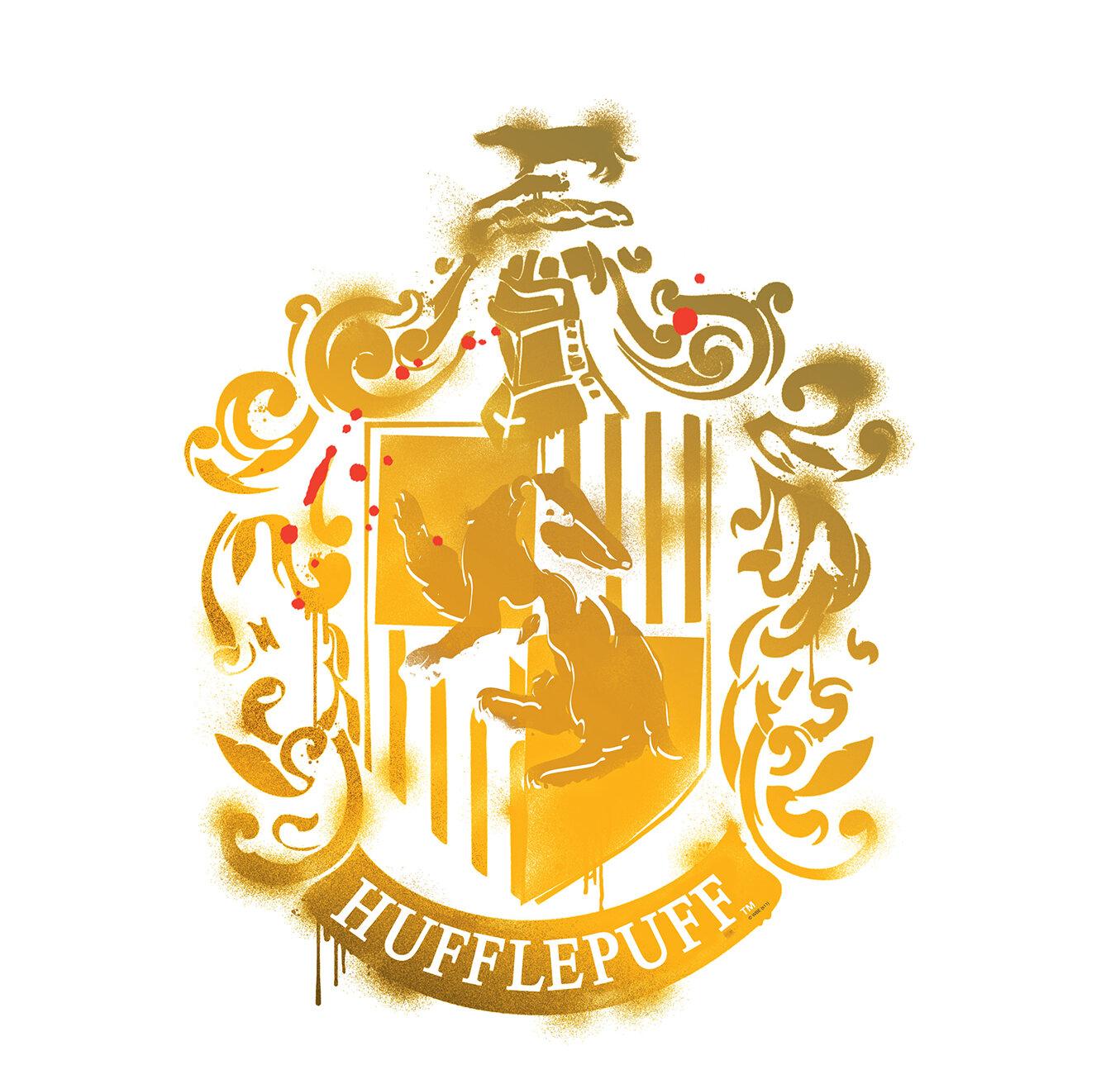 Advanced Graphics Harry Potter 7 Hufflepuff Crest Wall Decal | Wayfair