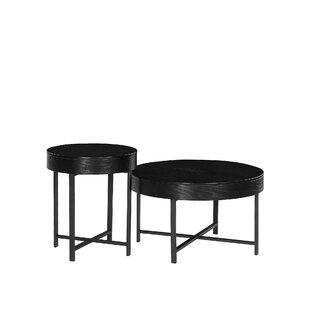 Ethel2 Piece Side Table Set With Storage By 17 Stories