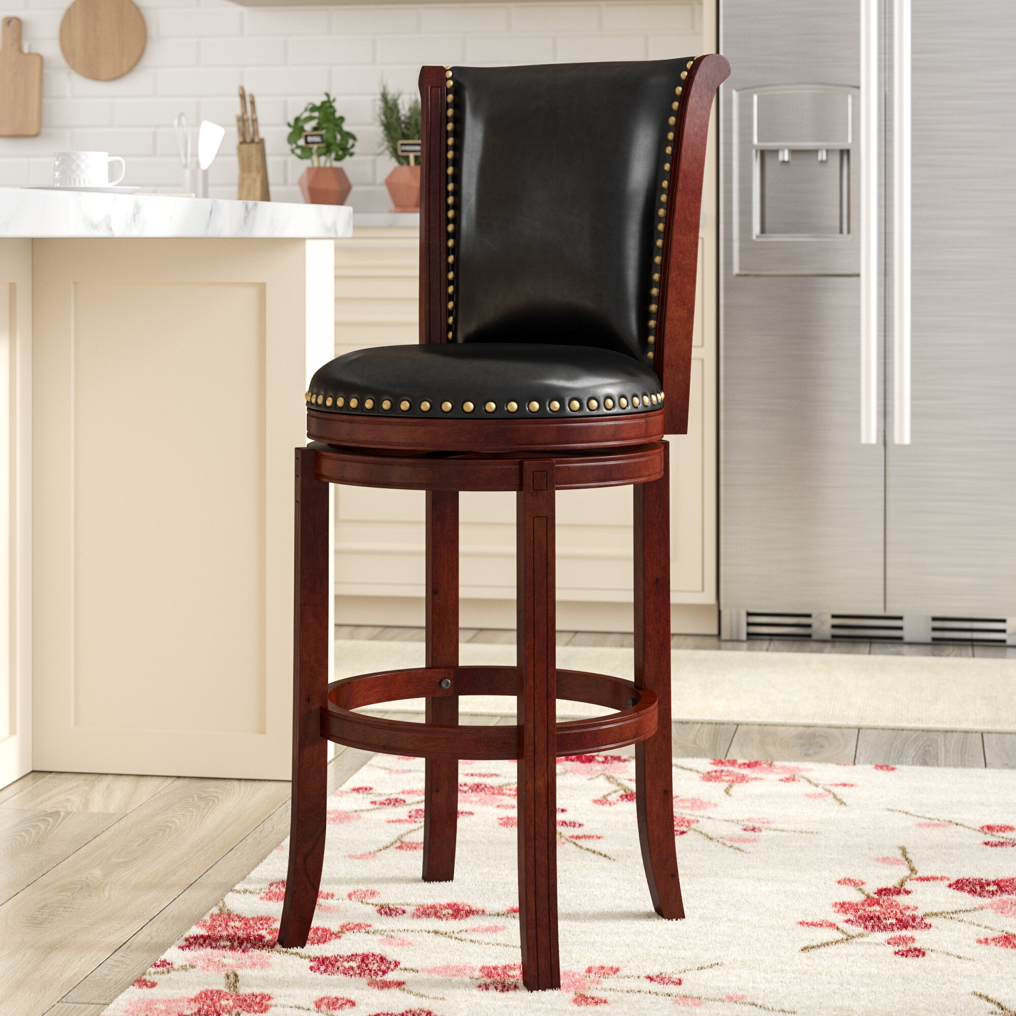 Awesome Sabreen 30 Swivel Bar Stool Alphanode Cool Chair Designs And Ideas Alphanodeonline