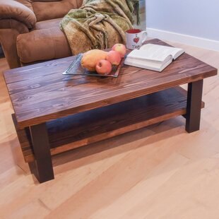 Stickley Solid Wood Coffee Table with Storage