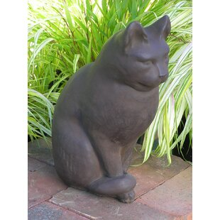 Classic Sitting Cat Statue