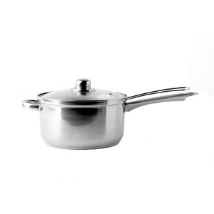 Essential 3L Saucepan with Lid by Symple Stuff