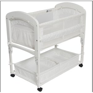 Cambria Wood CV Quilted Co-Sleeper