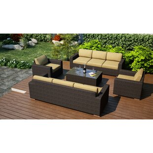 Hodge 5 Piece Sofa Set with Cushions