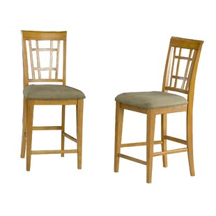 Bluffview 25.25 Bar Stool (Set Of 2) by DarHome Co Amazingt