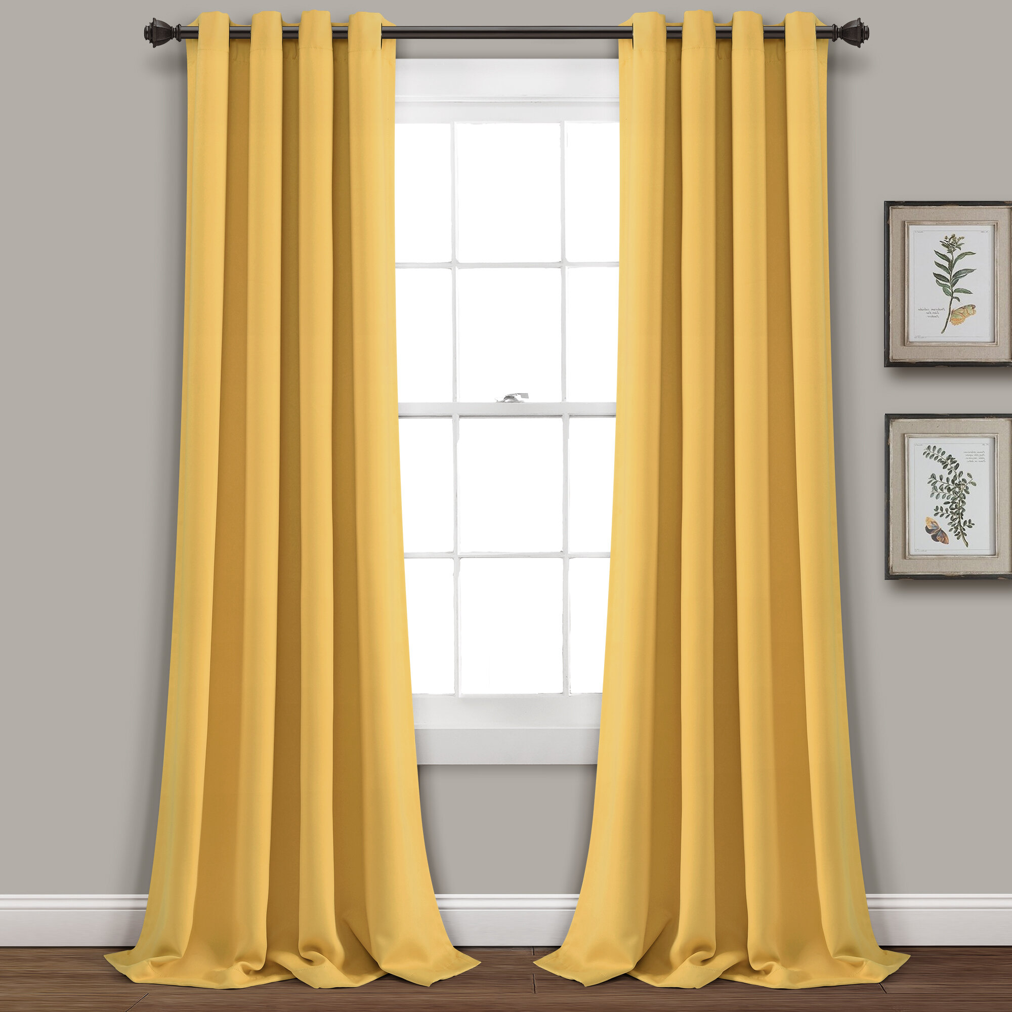 Yellow Gold Curtains Drapes You Ll Love In 2021 Wayfair