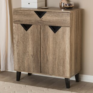 Wrought Studio 12 Pair Shoe Storage Cabinet