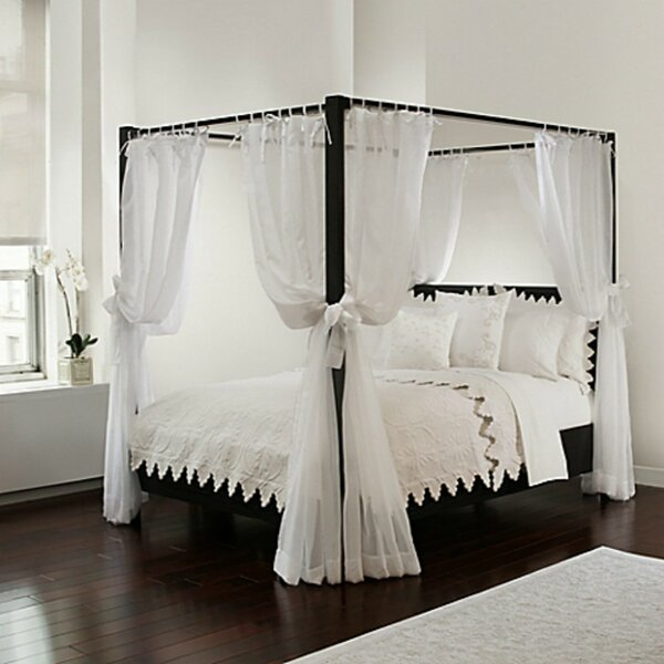 Canopy Bed Drapes | Wayfair
