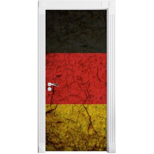 German Flag Door Sticker By East Urban Home