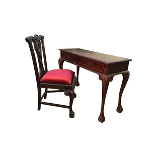 England Side Chair Writing Desk