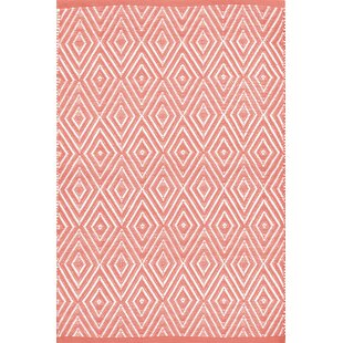 Best Reviews Diamond Hand-Woven Indoor/Outdoor Area Rug By Dash and Albert Rugs