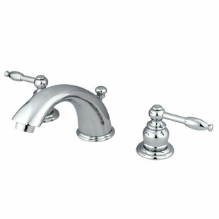 Elements of Design Magellan Widespread Bathroom Faucet with Drain Assembly