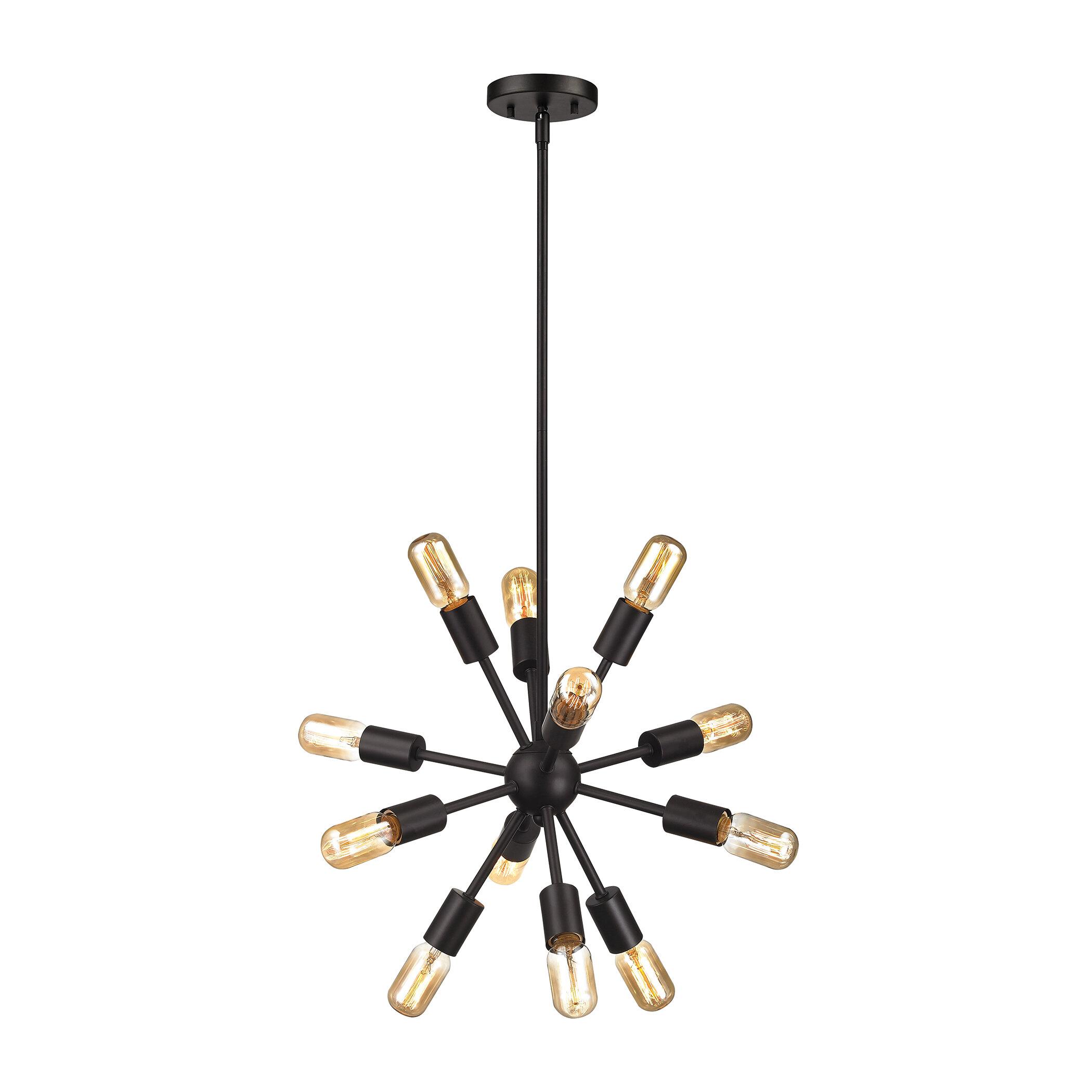Langley street kendall 12 light sputnik chandelier reviews wayfair aloadofball Gallery