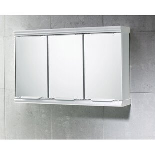 Online Reviews Princess 23 x 15 Surface Mounted Medicine Cabinet ByGedy by Nameeks