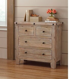 Beckman Solid Wood 4 Drawer Accent Chest by Gracie Oaks