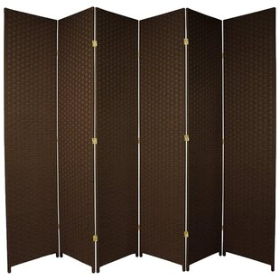 Saltzman 6 Panel Room Divider by Bloomsbury Market