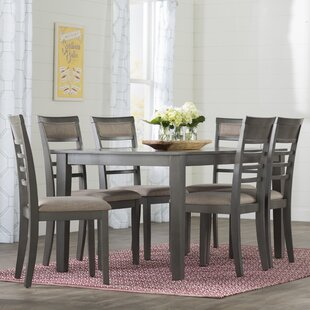 Edouard 7 Piece Dining Set Gracie Oaks