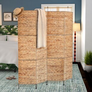 Beachcrest Home Castine 4 Panel Room Divider