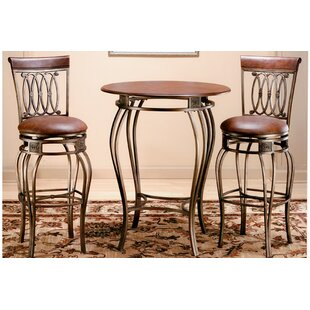 Copenhagen 3 Piece Pub Table Set Astoria Grand