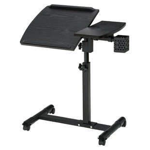 Alberta Height Adjustable Standing Laptop Desk Cart