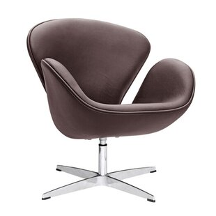Swan Swivel Barrel Chair