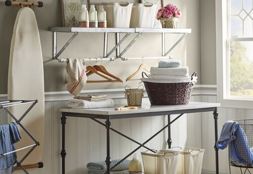 Modern Farmhouse Laundry Room Design Ideas Wayfair