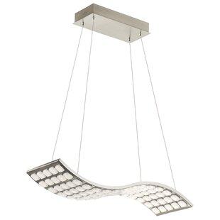Orren Ellis Ruble 1-Light LED Kitchen Island Pendant