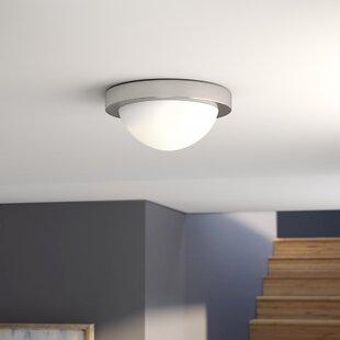 Ebern Designs Beacon 2-Light Flush Mount