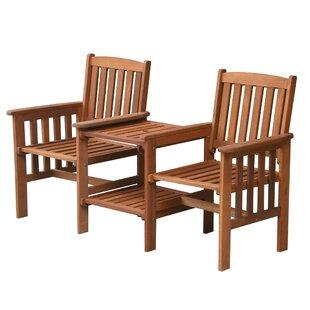 Ackerman Wooden Love Seat Image