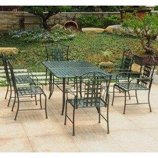Darby Home Co Doric 7 Piece Dining Set