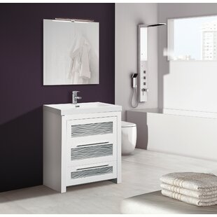 Gemma 800mm Free-standing Single Vanity Unit By Belfry Bathroom