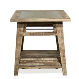 Kells Solid Wood End Table by Gracie Oaks