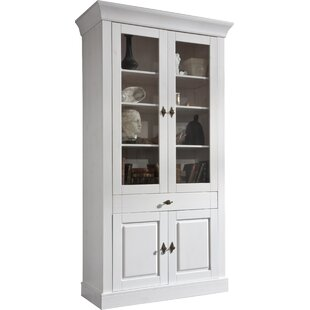Kelly White Display Cabinet By August Grove