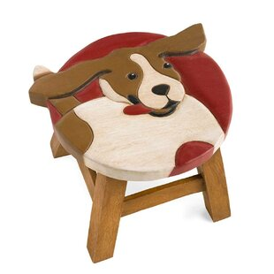 Plow & Hearth Beagle Accent Stool
