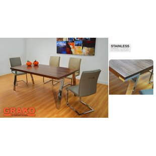 Pennebaker Dining Table by Ebern Designs 2019 Sale