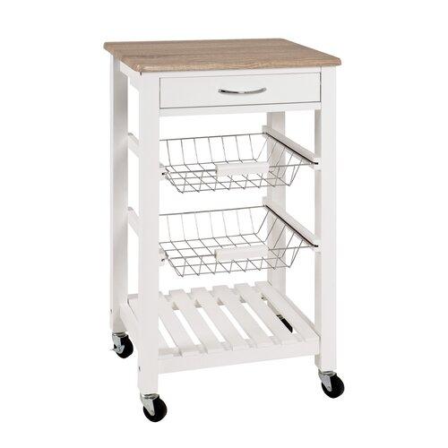 Küchenwagen TONIA von METRO LANE Weiß
