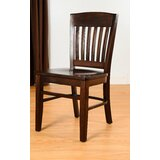 Kershaw Solid Wood Dining Chair (Set of 2) by Alcott Hill®