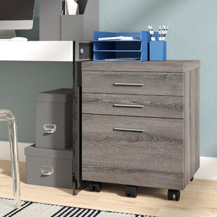 Brayden Studio Canipe 3-Drawer Mobile Lat..