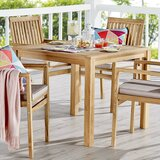 Koa Teak Dining Table