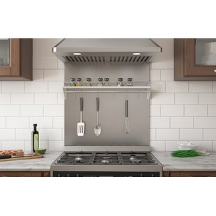 Ancona Backsplash Wall Mounted Pot Rack