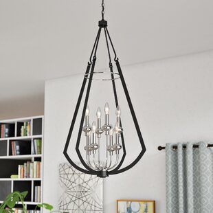 Brayden Studio Luman 8-Light Foyer Pendant