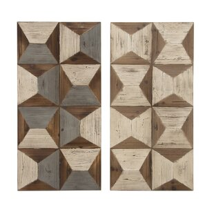 Wood Wall Décor (Set Of 2)