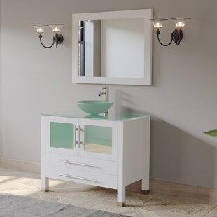 Annia 36 Single Bathroom Vanity Set with Mirror by Ebern Designs