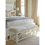 Birkdale Faux Leather Bench by Tommy Bahama Home